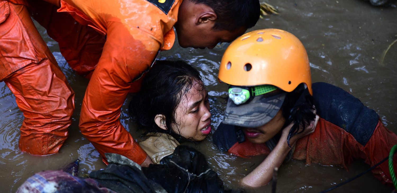 Indonesia earthquake and tsunami aftermath