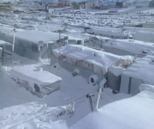 Libanon storm noodhulp