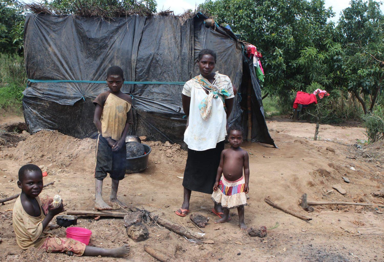 Mozambique child idai orkaan schade