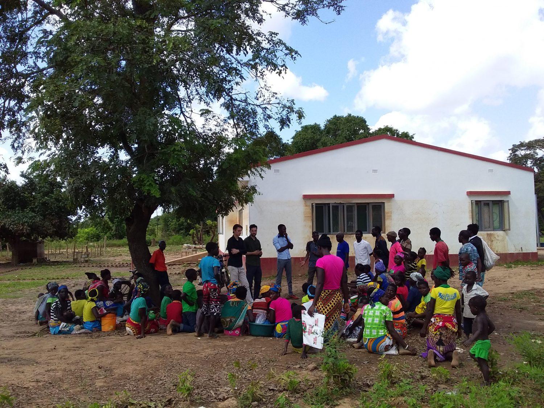 Rijk van Ginkel foto idai mozambique noodhulp