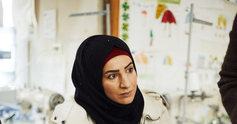 0000 De Syrische Imane sterke vrouw vluchteling Libanon Syrie Syria