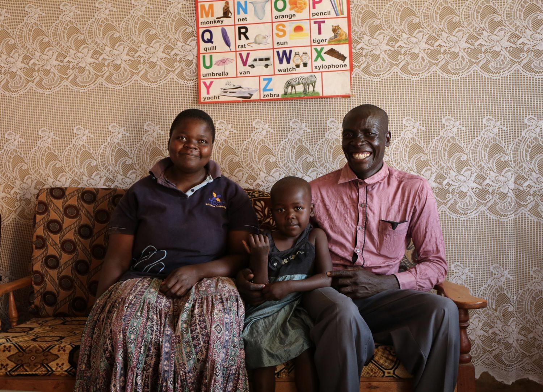 P10. Godfried met gezin