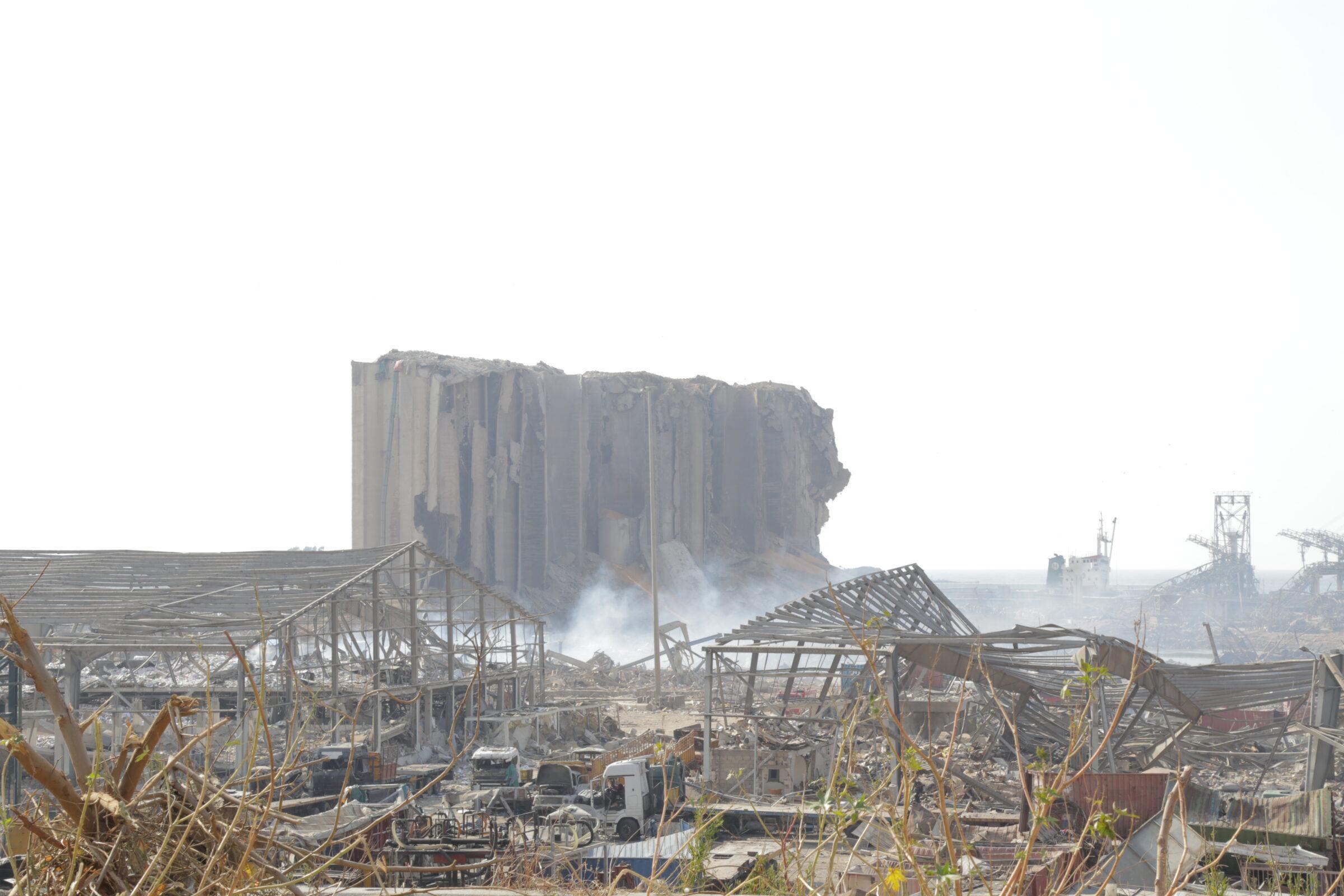 Explosie Beiroet Dorcas