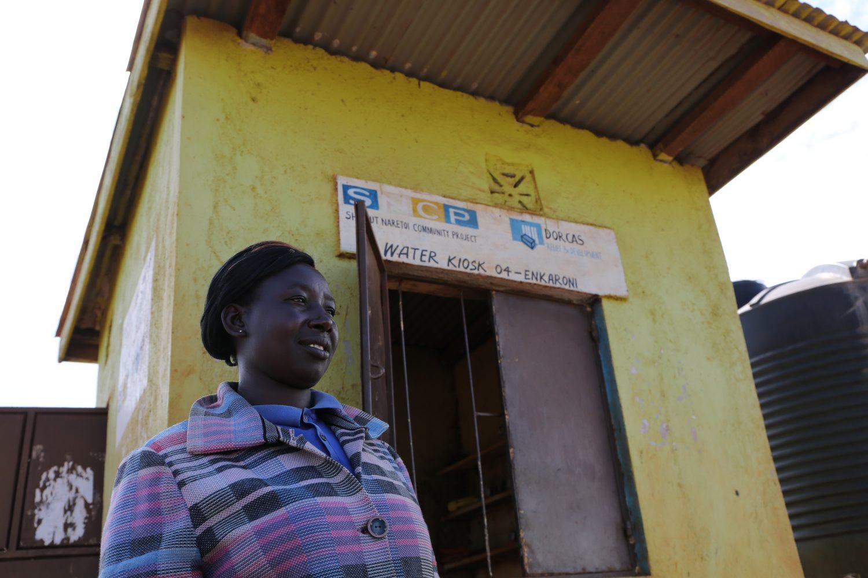 Schoon drinkwater Kenia Dorcas