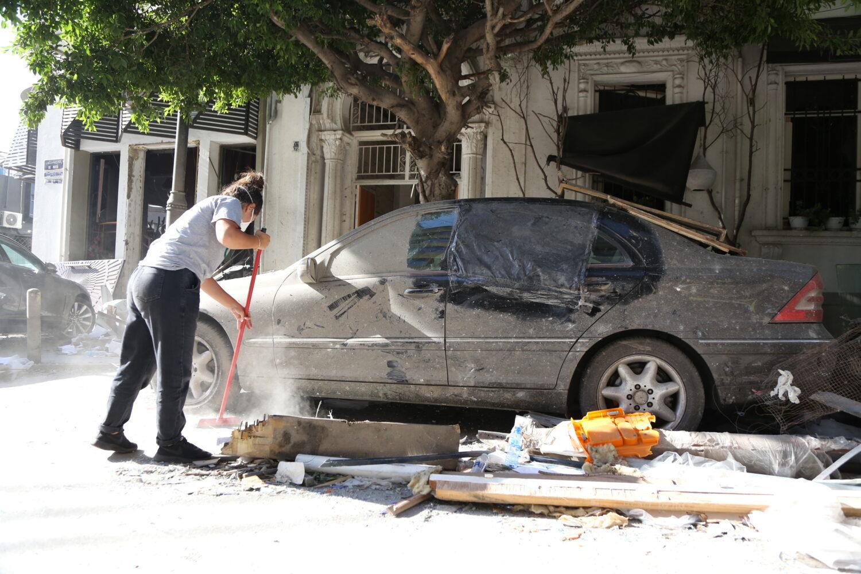 Explosie Beiroet Libanon Dorcas