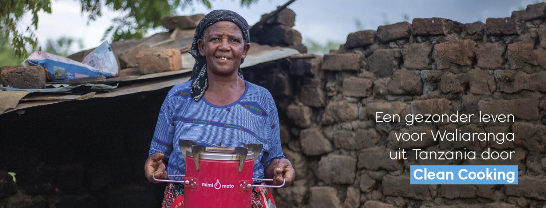 Clean Cooking Tanzania Dorcas