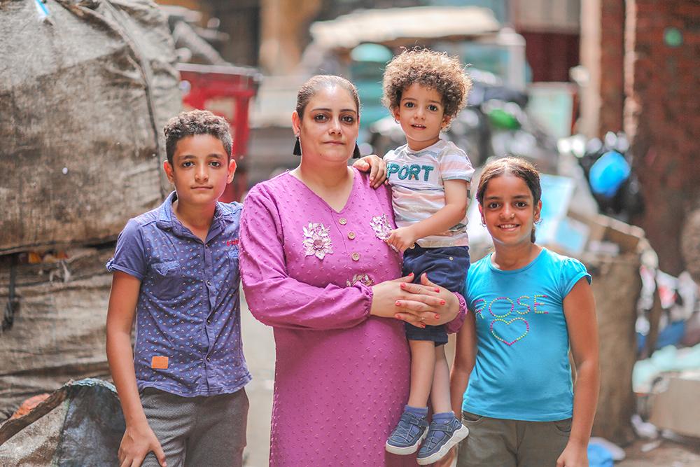 Psychosociale hulp voor Egyptische gezinnen