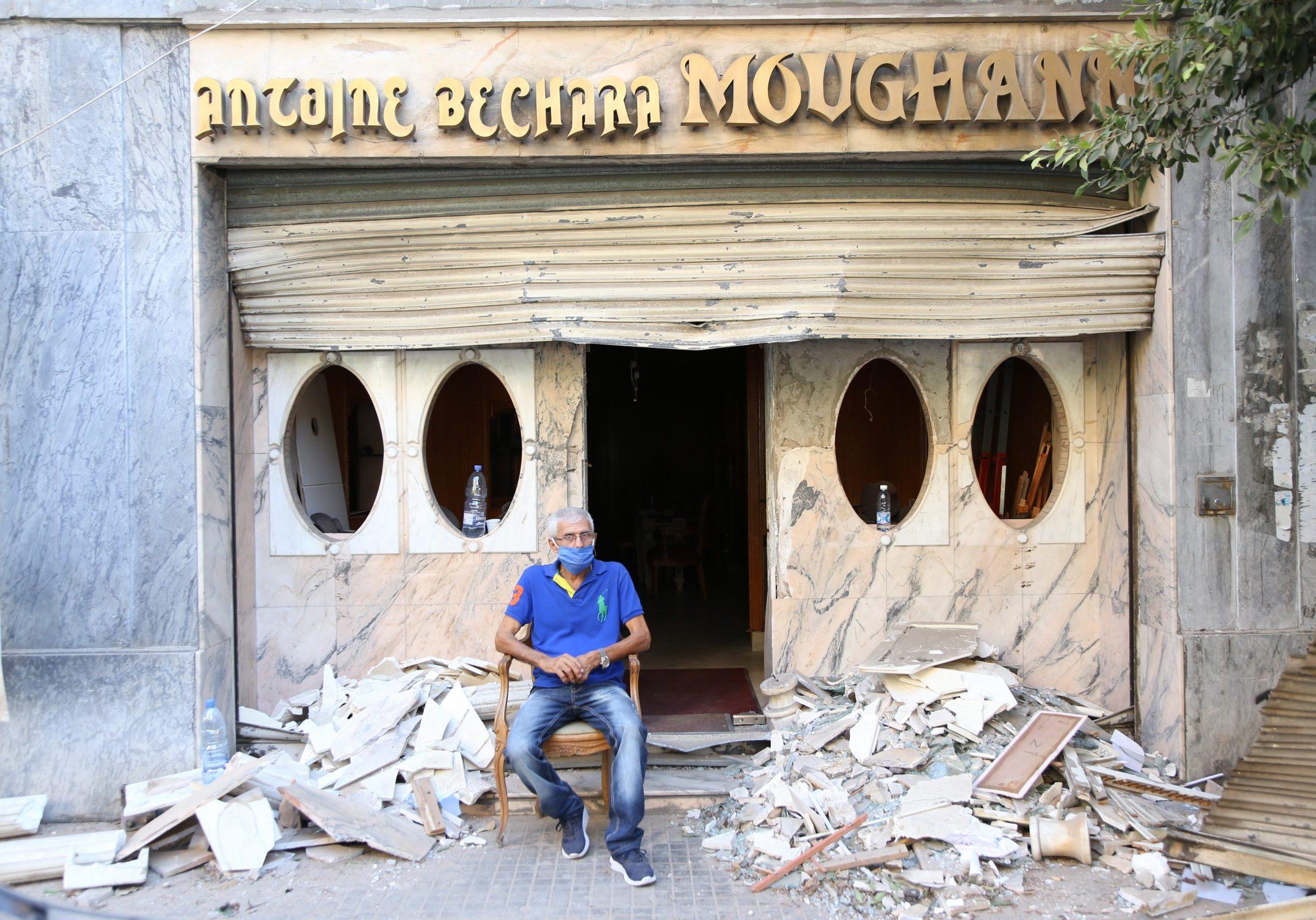 Dorcas Beiroet Explosie Libanon