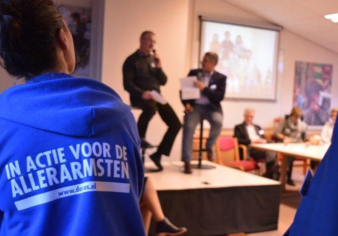vrijwilligers presentatie dorcas