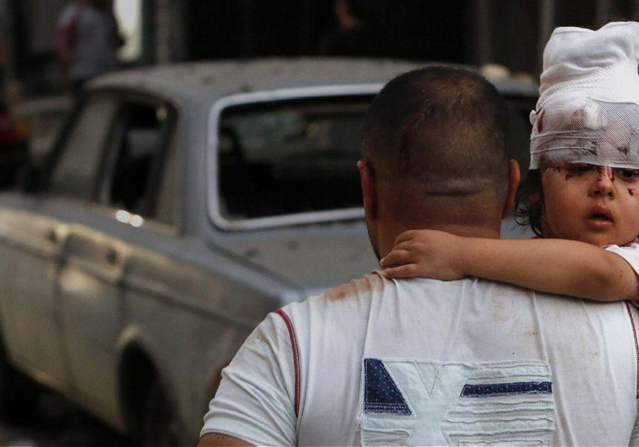 Bannerfoto campagne Beiroet Libanon Lebanon noodhulp relief