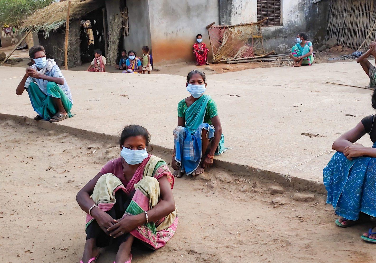 Corona noodhulp Tearfund relief India