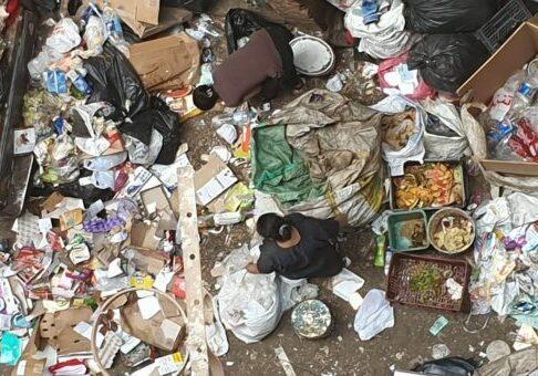 Egypte cairo vuilnis vuilniswijk oasis centrum gemeenschapscentrum oasis afval
