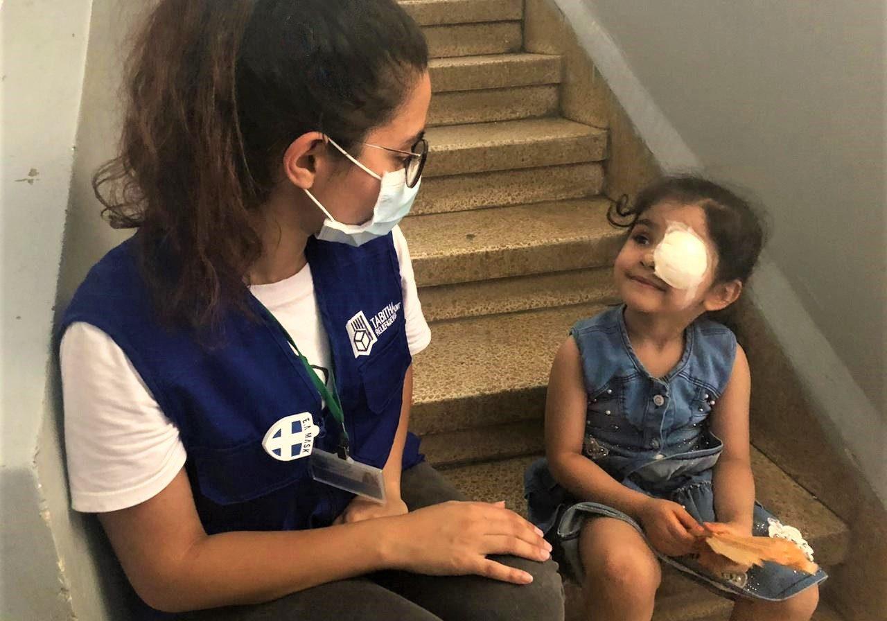 Lama ziekenhuis Beiroet Beirut Libanon Lebanon vluchteling Syria Syrië