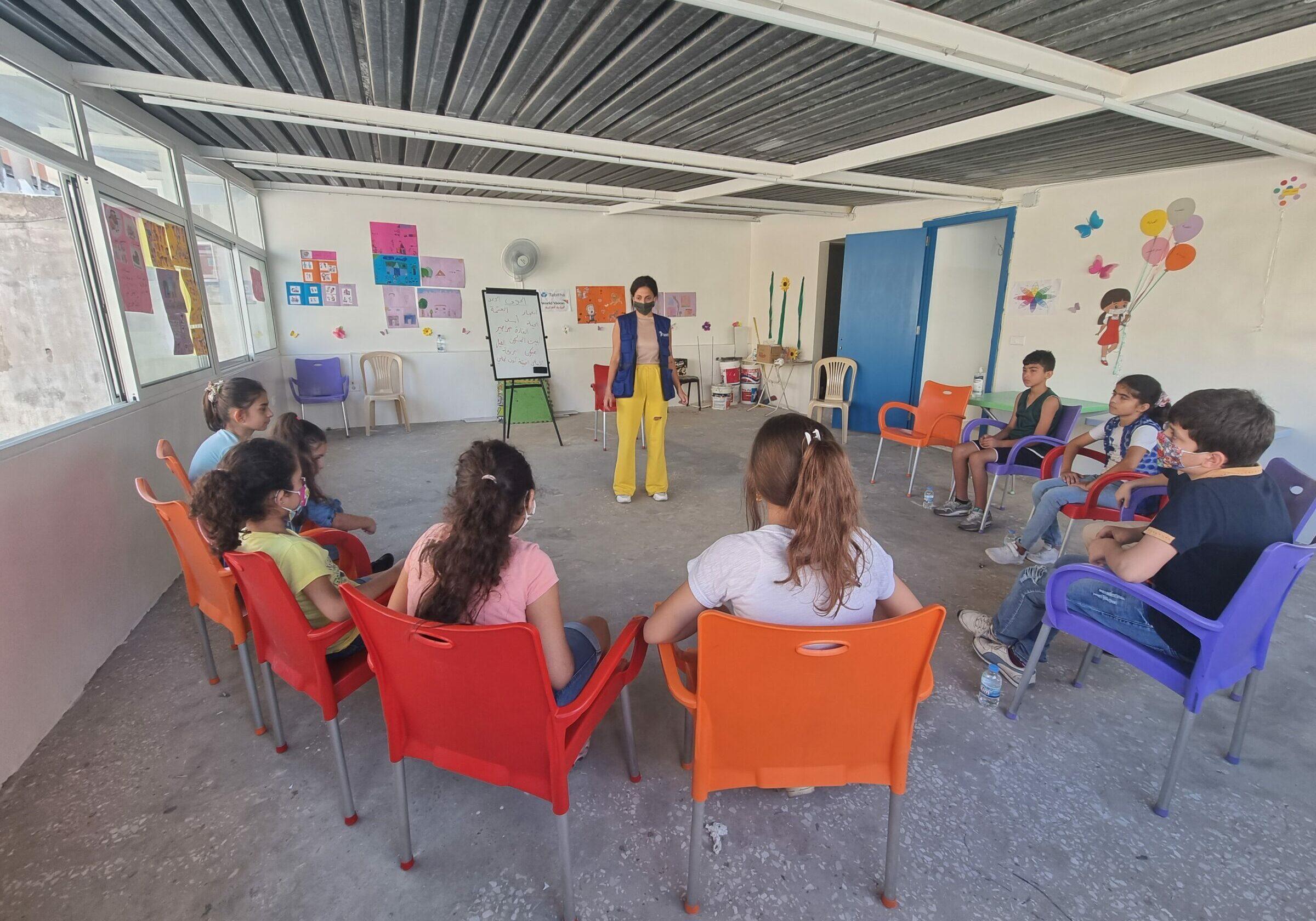 Libanon gemeenschapscentra community centre psychosociale hulp mhpss