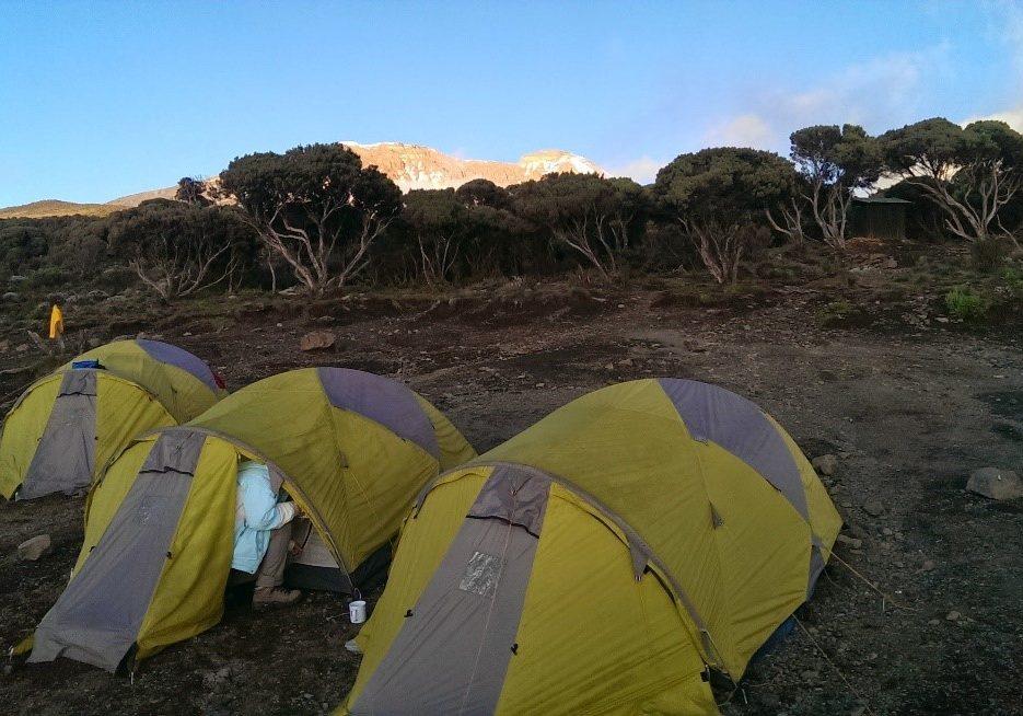 P16-P17 Beklimming Kilimanjaro 2