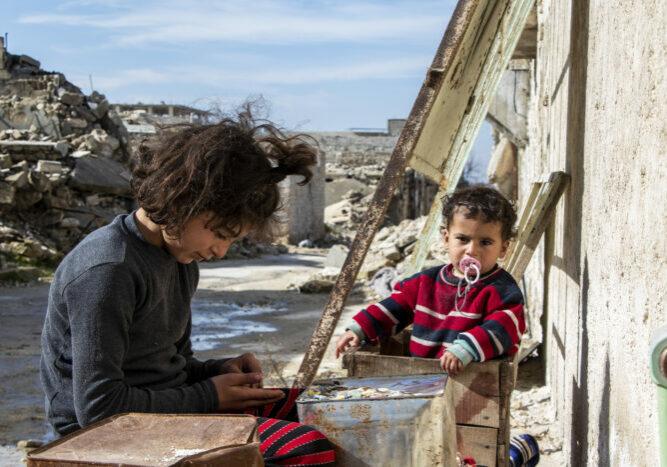 Syrië Syria kind children midden oosten noodhulp