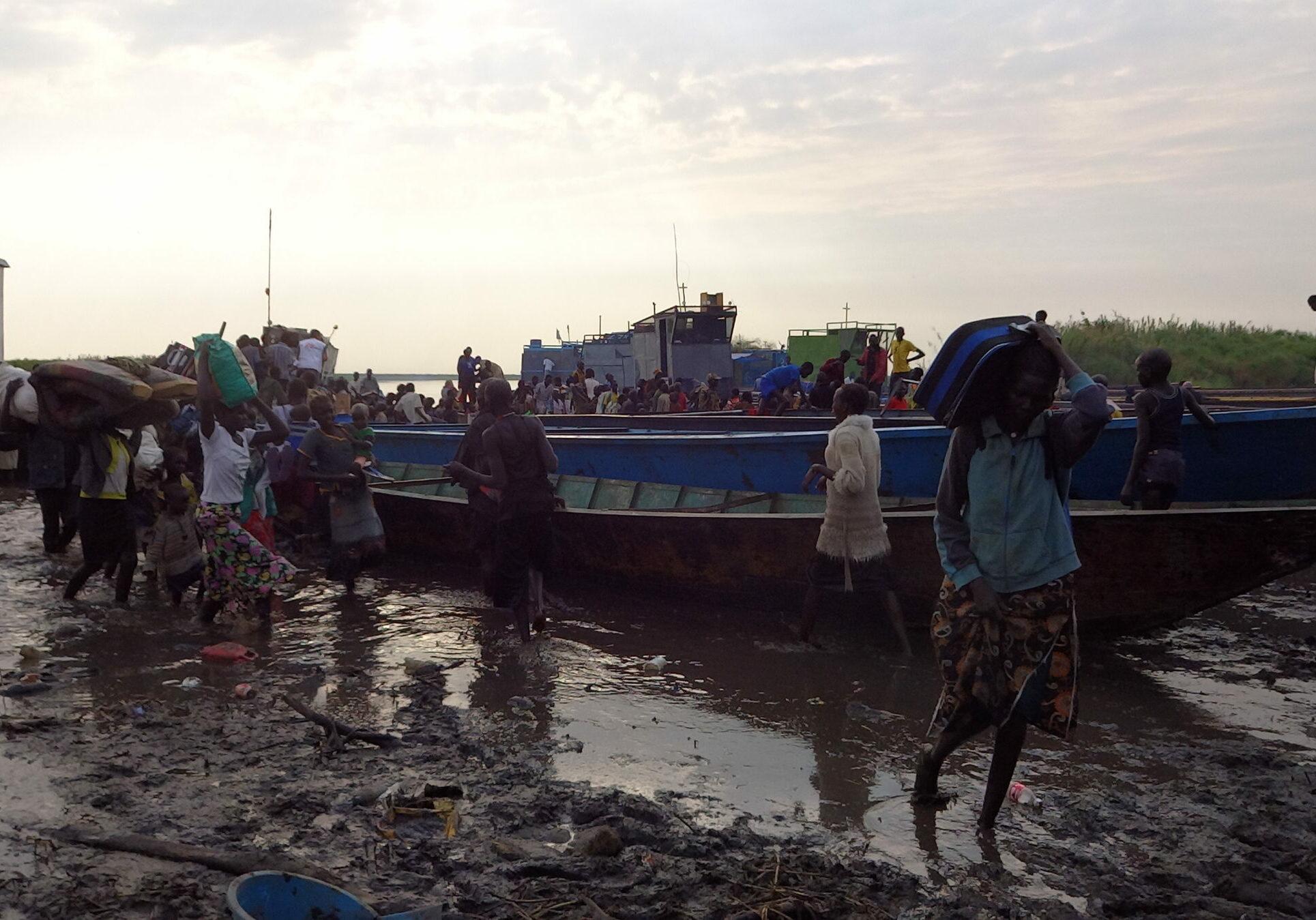 Zuid-Soedan South Sudan overstromingen noodhulp relief water