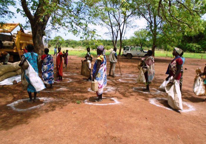 Zuid-Soedan corona social distance south sudan