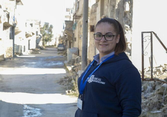 hala syrie syria noodhulp collega medewerker