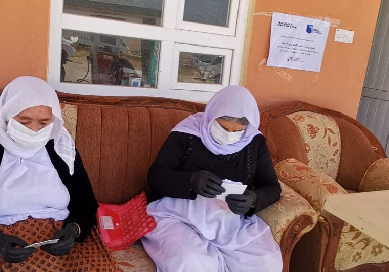 Irak Dorcas Jezidi hulp